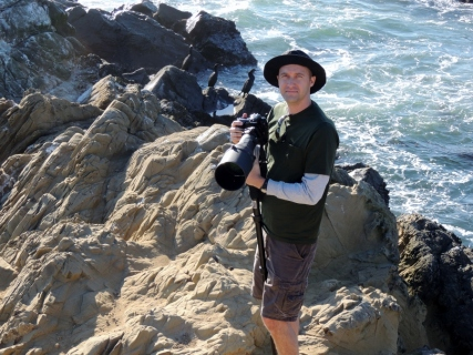 Michael in Point Lobos