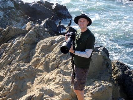 Michael in Point Lobos