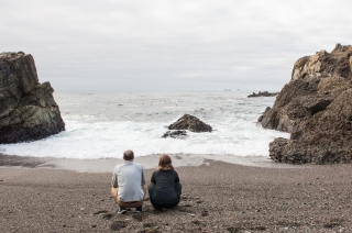 Michael and Yvonne - Point Lobos