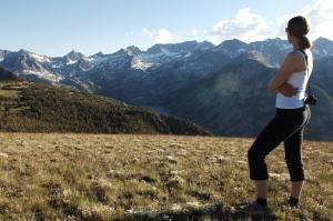 Yvonne in the High Sierras