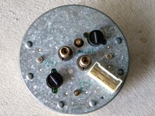 Removed Instrument Cluster (Back)