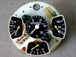 Removed Instrument Cluster (Front)