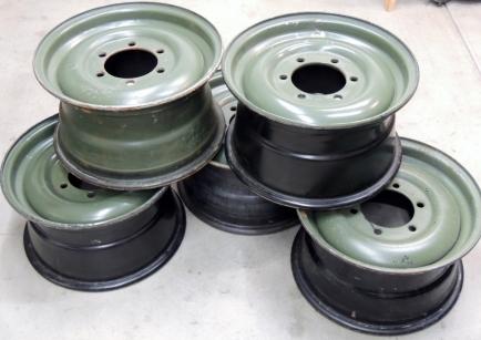 20 inch Steel U1300L Wheel Rims