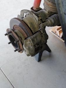 Cleaned Brake Assembly