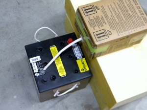 Filling Battery Cells with Acid