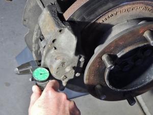 Measured Brake Pad Thicknesses