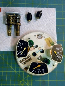 Reassembling Instrument Cluster