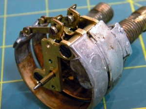 Solder Repair on Bourdon Tube