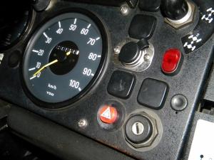 Test Fit Hazard Light Button