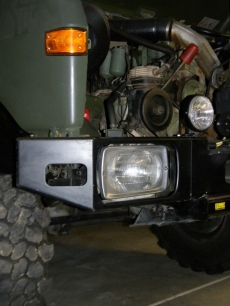 Test Fit Headlight Cover