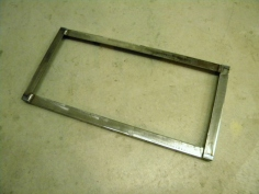 Welded New Battery Hold Down Frame