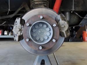 Painted Brake Hubs