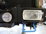 Reinstalled Headlight and Headlight Cover