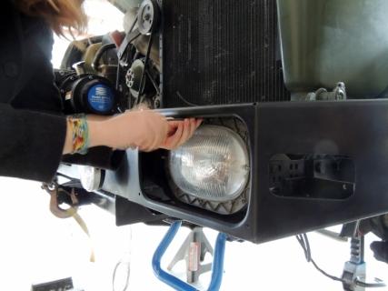 Removed Headlights