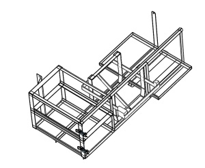 Driver Side Storage Mount Assembly Layout