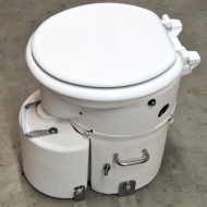 Received Air Head Composting Toilet