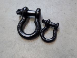 Spare Tire Lift Shackles