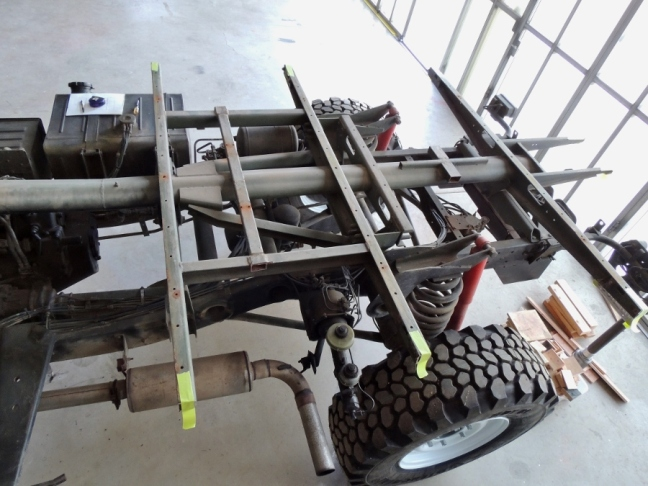 U1300L Expedition Truck Subframe