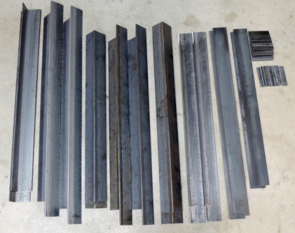 Cut Steel for Passthrough Frames