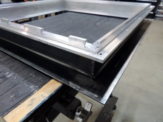 Fit Checking Steel and Aluminum Hab Side Frames