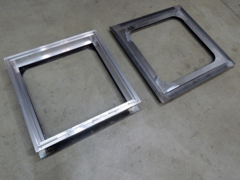 Hab and Cab Passthrough Frame Assemblies
