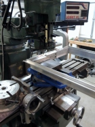 Milling Hinge Slots in Aluminum Passthrough Frame