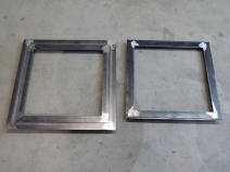 Welded Steel Passthrough Frames
