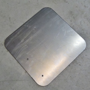 Cab Back Window Plates