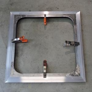 Cut and Fit Aluminum for Cab Passthrough Trim