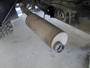 Finish Welded Exhaust and Muffler