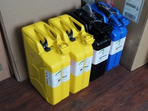 Jerry Cans for Wabi-Sabi Overland