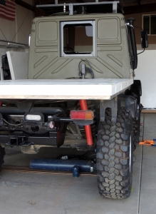 Placed Floor Panel on Subframe