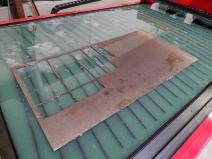 Plasma Cutting Cab Back Window Plates