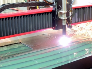 Plasma Cutting Cab Back Window Plates