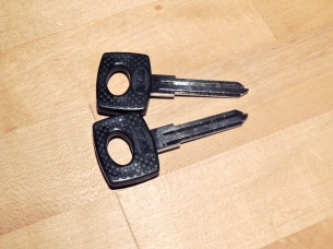 Received Ignition Key Blanks
