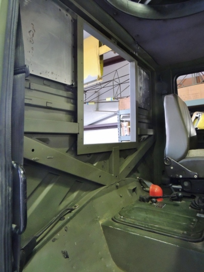 Started Touch Up Paint on Cab Interior