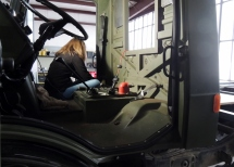 U1300L Cab Passthrough Paint Prep