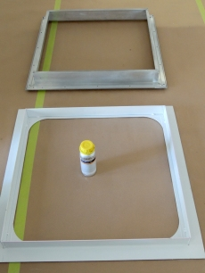 Bond Prepped Frames with Sika 205 Activator