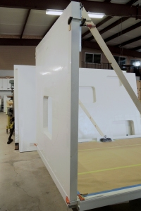 Bonded Forward Wall Panel