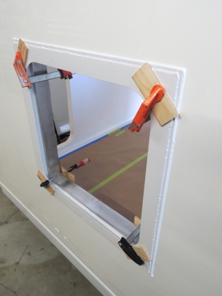 Bonded in Passthrough Frames