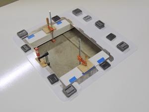 Bonded Upper Aluminum Hatch Adapter Plate