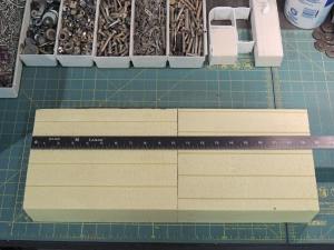 Cut Foam for Core Between Aluminum Hatch Adapter Plates