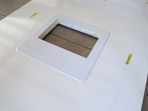 Finished Roof Hatch Cutout