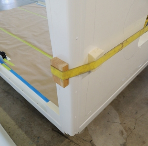 Side Wall Extrusion Clamp Up