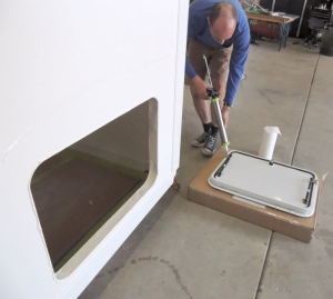 Bonded Access Hatches