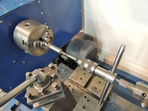 Fabricating Drill Bit for Wire Runs