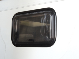 Installed Over Bed Windows