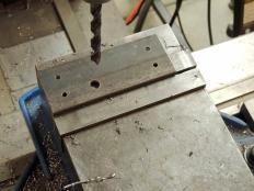 Machined Marker Light Brackets for Rear Mount Frame
