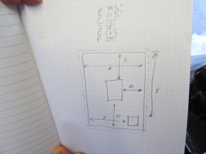 Measured Roof Area for Solar Panels