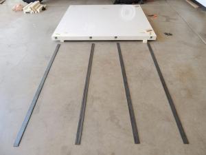 Prepped for Rear Wall Steel Hardpoint Bond
